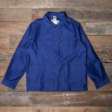 LE LABOUREUR Jacket 400 Moleskin Cotton Navy