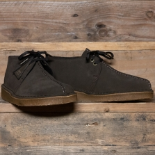 Clarks Originals Desert Trek Suede Dark Brown