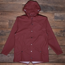 Rains Waterproof Jacket 11 Maroon