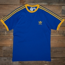 adidas Originals Ge6232 3 Stripes Tee Royal Gold