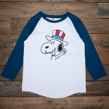 TSPTR Snoopy 2020 Baseball Tee White Navy