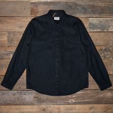 NUDIE 140650 Chuck Fluid Twill Shirt Black