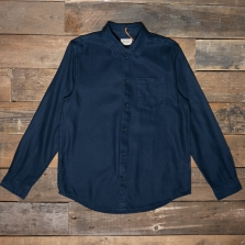 NUDIE 140650 Chuck Fluid Twill Shirt Navy