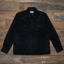 NUDIE 140667 Sten Wool Shirt Black