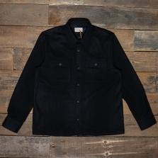 NUDIE 140667 Sten Wool Shirt Black