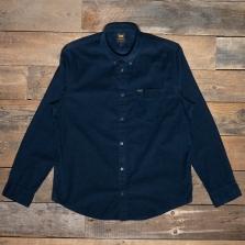 LEE Lee Button Down Cord Shirt L880mr Sky Captain