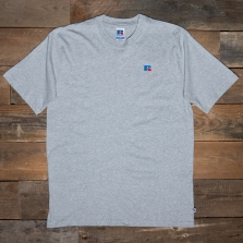 RUSSELL ATHLETIC E06002 Short Sleeve T Shirt 091 New Grey Marl
