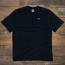 RUSSELL ATHLETIC E06002 Short Sleeve T Shirt 099 Black