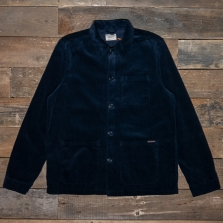 NUDIE 160695 Barney Work Jacket Cord Navy