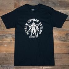 EBBETS FIELD FLANNELS Hebrew Orphan Asylum 1935 T Shirt Black