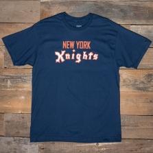 EBBETS FIELD FLANNELS New York Knights 1938 T Shirt Blue