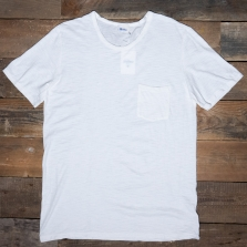 SCHIESSER REVIVAL Hanno Patch Pocket T Shirt Natural
