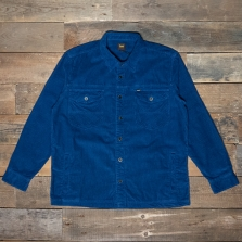 LEE Loco Patch Overshirt L68kt Washed Blue