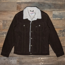 LEE Sherpa Jacket L87aq Winter Brown