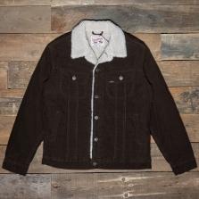 LEE Sherpa Jacket L87aq Winter Brown