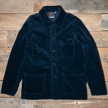 VETRA Workwear Jacket Soft Cord 2b55 Navy
