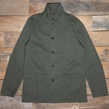 VETRA Workwear Broken Twill Jacket 2a97 Olive