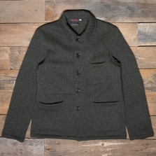 VETRA Workwear Knitted Wool Jacket 5u97 Green