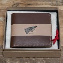 Red Wing 95034 Bi Fold Dual Card Wallet Amber