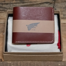 Red Wing 95010 Bi Fold Dual Card Wallet Oro Russet