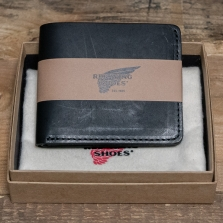Red Wing 95018 Bi Fold Dual Card Wallet Black