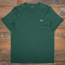 Fred Perry M3519 Ringer T Shirt 406 Ivy