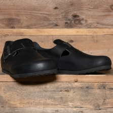 BIRKENSTOCK 166541 London Oiled Leather Black