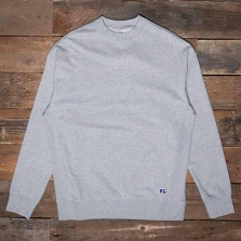 RUSSELL ATHLETIC E06091 Crewneck Sweatshirt 091 Grey Marl