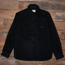 PIKE BROTHERS 1943 Cpo Wool Shirt Black