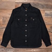 PIKE BROTHERS 1943 Cpo Moleskin Shirt Black