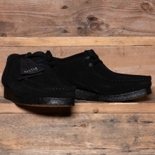 Clarks Originals Wallabee Suede Black
