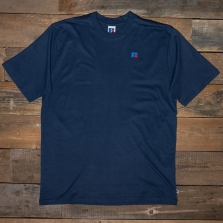 RUSSELL ATHLETIC E16001 Baseliners Logo T 190 Navy