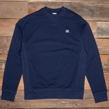 RUSSELL ATHLETIC E16011 Frank2 Logo Sweatshirt Na 190 Navy