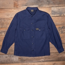 Stan Ray Sateen Cpo Shirt Navy