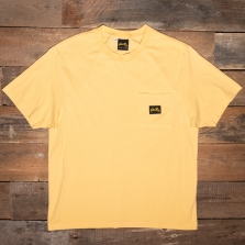 Stan Ray Short Sleeve Patch Pocket Tee Lemon