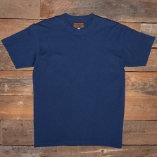 THE QUARTERMASTER Mb74 Tubular Cotton T Shirt Blue