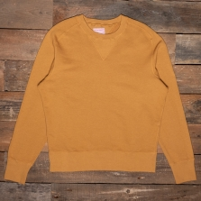 THE QUARTERMASTER Mc04 30s Sweatshirt Ochre