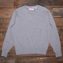 THE QUARTERMASTER Mc04 30s Sweatshirt Grey
