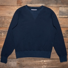 THE QUARTERMASTER Mc04 30s Sweatshirt Blue
