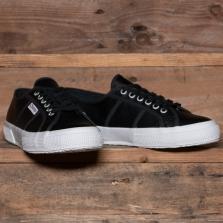 Superga 2750 Efglu Leather Classic Black White