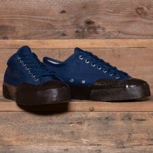 Superga 2432 Works Moleskin A0c Royal Blue Brown