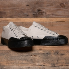 Superga 2432 Works Moleskin A0e White Black