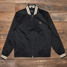 Fred Perry J1532 Tennis Bomber Jacket 102 Black
