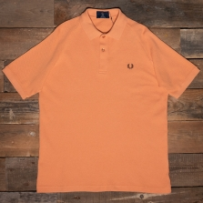 Fred Perry M1813 Mesh Pique Polo Shirt L83 Squash