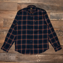 LEE Lee Button Down Shirt L88 Navy