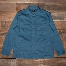 LEE Box Pocket Overshirt L68 Teal