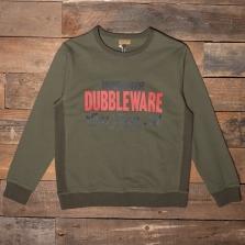 DUBBLEWARE Dubbleware Top Them All  Sweatshirt Military Green