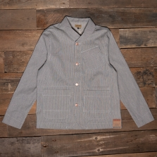 DUBBLEWARE Shawl Collar Jacket Selvedge Hickory