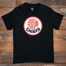 EBBETS FIELD FLANNELS Atlanta Chiefs 1967 T Shirt Black