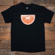 EBBETS FIELD FLANNELS La Aztecs 1976 T Shirt Black
